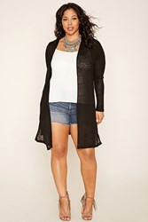Forever 21 Plus Size Ribbed Knit Cardigan
