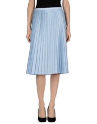 Max And Co. Skirts 3 4 Length Skirts Women Blue