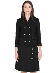 Gucci Double Stretch Wool Natte Jacket
