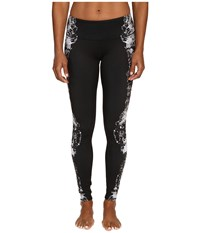 Alo Yoga Airbrushed Legging Dark Krystal Black Women's Workout