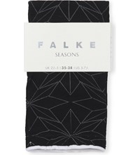 Falke Active Spring Star Cotton Blend Socks 3009 Black