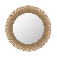 Kartell All Saints Mirror 24K Gold Plated