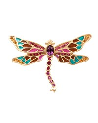 Breea Petite Dragonfly Pin Jay Strongwater Multi Colors