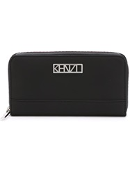 Kenzo 'Kalifornia' Continental Wallet Black