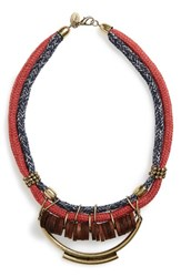 Women's Berry Rope Statement Necklace