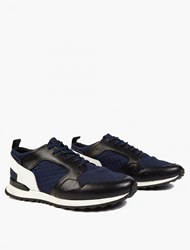 Oamc Black And Blue Marathon Sneakers