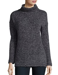 Splendid Turtleneck Knit Sweater Black