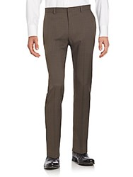 Saks Fifth Avenue Black Slim Fit Dress Pants Shales