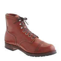Red Wing For J.Crew Iron Ranger Boots Brick Settler