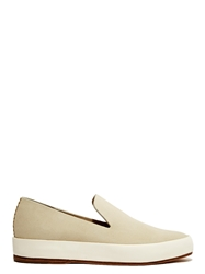 New Season Feit Womens Hand Sewn Leather Slippers