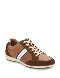 Kenneth Cole Reaction Combo Messanger Sneaker Brown