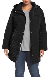 Gallery Plus Size Women's Diamond Quilted Jacket