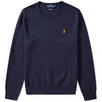 Polo Ralph Lauren Pima Cotton Crew Knit Blue