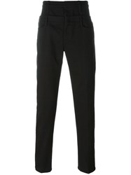 J.W.Anderson J.W. Anderson Double Waistband Trousers Black