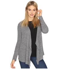 Volcom Lived In Go Wrap Heather Grey Women's Long Sleeve Pullover Gray