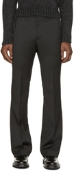 Cnc Costume National Black Flared Trousers