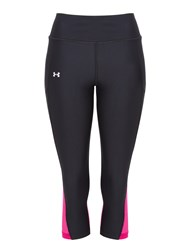 Under Armour Compression Fly By Capri Running Tights Black
