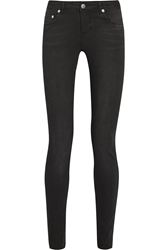 Blk Dnm 26 Mid Rise Skinny Jeans