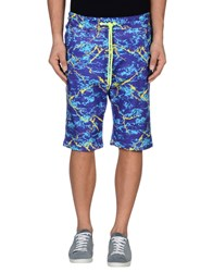 Love Moschino Trousers Bermuda Shorts Men Purple