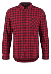 Merc Foxhill Shirt Deep Red