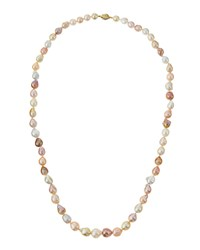 Belpearl 14K Baroque Freshwater And South Sea Pearl Necklace