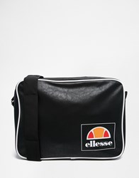 Ellesse Messenger Bag Black