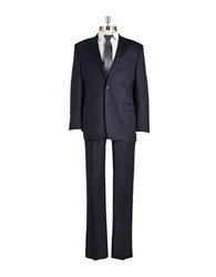 Lauren Ralph Lauren Wool Pinstriped Suit