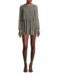 Raga Sequin Embellished Dress Grey