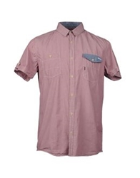 Blend Of America Blend Short Sleeve Shirts Brick Red