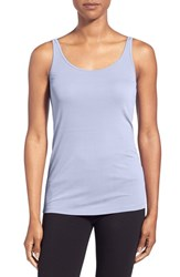 Women's Eileen Fisher Silk Jersey Scoop Neck Long Camisole Delfina