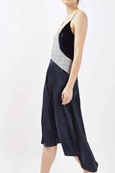 Topshop Tailored Ballerina Slip Dress By Boutique Multi