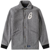 Bleu De Paname Stadium Jacket Grey