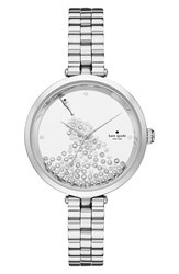 Kate Spade Women's New York Holland Crystal Dial Bracelet Watch 34Mm