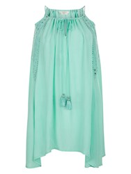 Accessorize Heritage Trapeze Dress Aqua