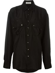 Faith Connexion Loose Fit Shirt Black