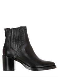Janetandjanet 70Mm Studded Leather Ankle Boots
