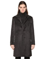 John Varvatos Brushed Wool Coat