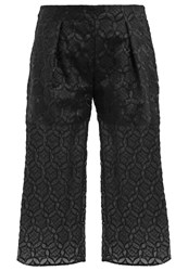Banana Republic Lace Trousers Black