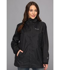 Columbia Plus Size Arcadia Ii Jacket Black Women's Coat