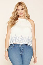 Forever 21 Plus Size Embroidered Cami