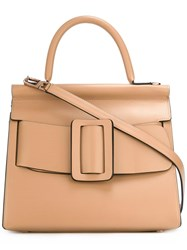 Boyy Belted Tote Bag Nude Neutrals