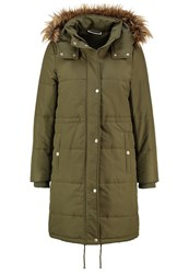 Noisy May Nmcamil Parka Ivy Green Khaki