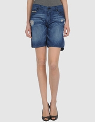 Rockstar Denim Bermudas Blue