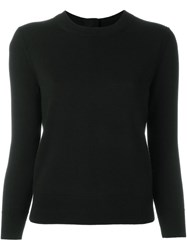 Marc Jacobs Embellished Button Jumper Black