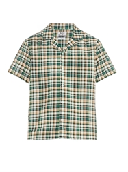 Acne Studios Ody Checked Short Sleeved Shirt