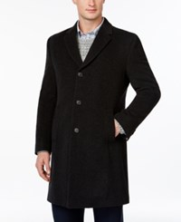 Tommy Hilfiger Barnes Cashmere Blend Overcoat Trim Fit