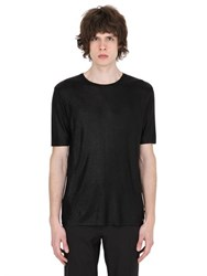 Fendi Metallic Effect Viscose T Shirt