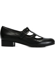 Chie Mihara Buckled Shoes Black