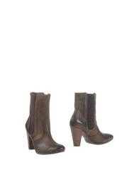 Donna Piu Ankle Boots Lead
