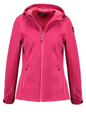 Killtec Lerika Soft Shell Jacket Dunkel Pink